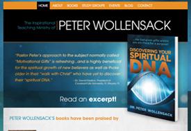 Christian Web design for Author