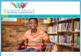 Christian web design for non-profit organization