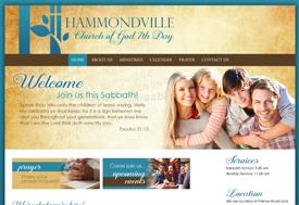 Christian Web Design for Hammondville Church of God