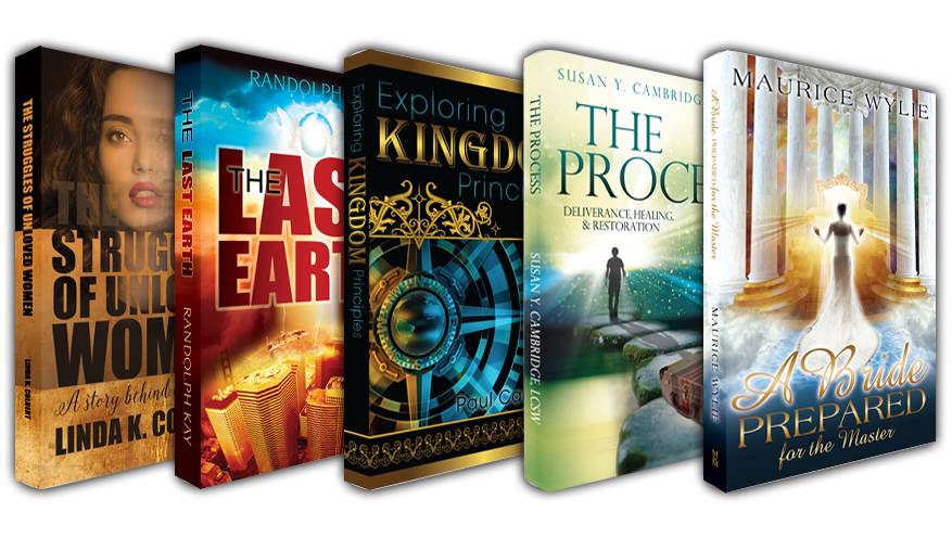 Christian Graphic Design for book covers