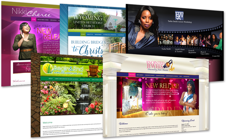 Christian Web Design for churches and ministries