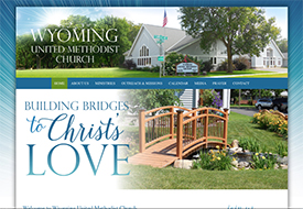 United Methodist website design