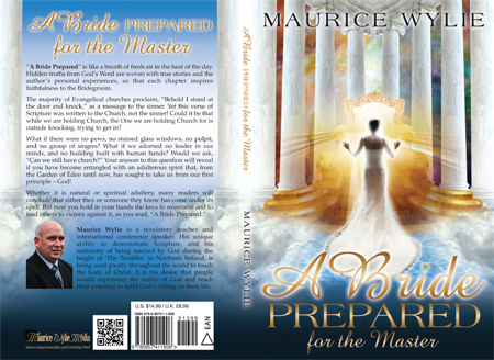 A Bride Prepared for the Master - Christian book cover design