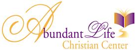 logo design for Abundant Life Christian Center Church
