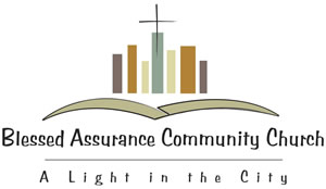 Blessed Assurance Community Church Logo Design