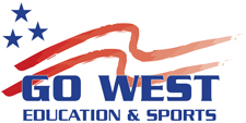 Go West Education & Sports Business Logo