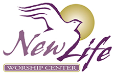 New Life Worship Center Church Logo Design