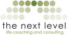 Next Level Life Coaching & Consulting Business Logo Design