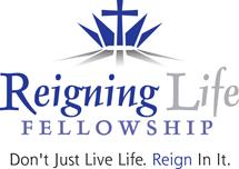Reigning Life Fellowship Church Logo Design